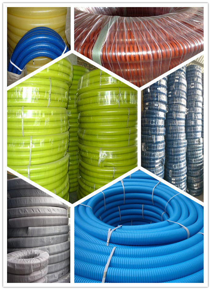 Pvc suction hose pipe tubing water