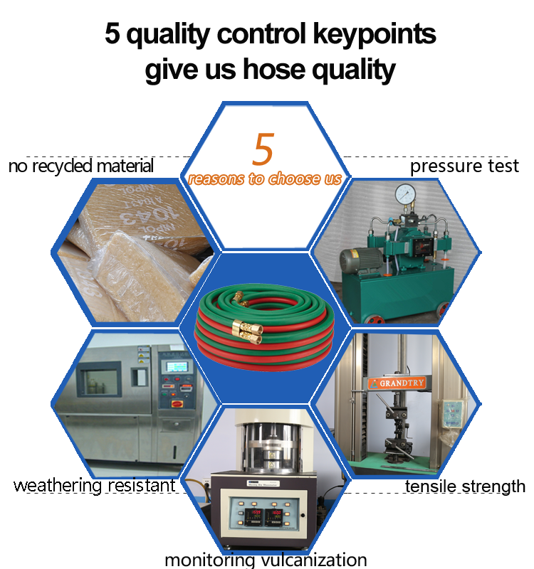 oxygen hose control keypoints