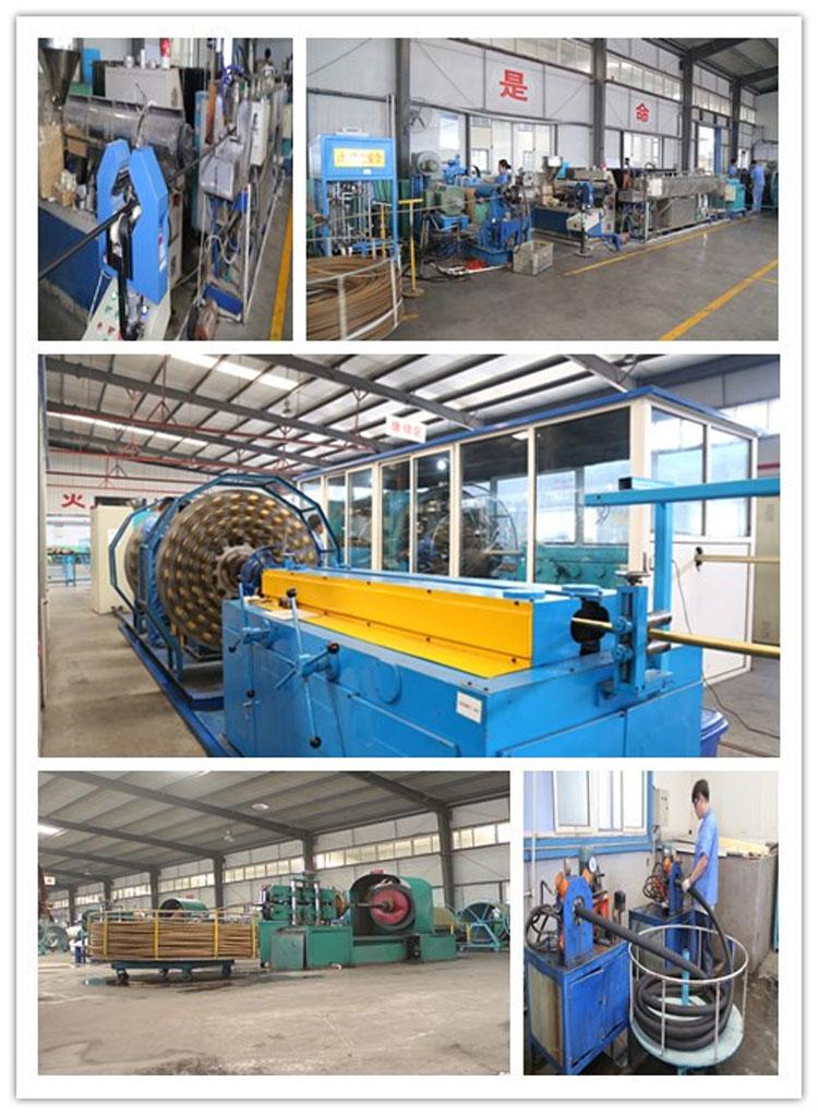 hydraulic hose EN 856 4SP factory