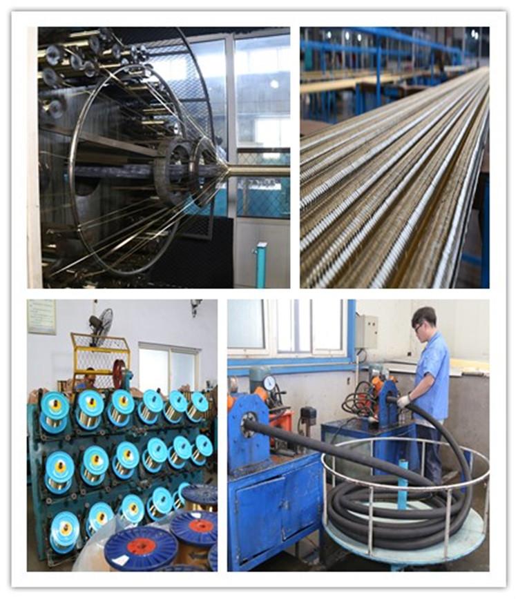 concrete placement hose factory