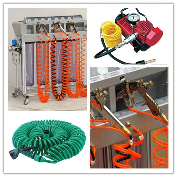 pu-coil-hose-application