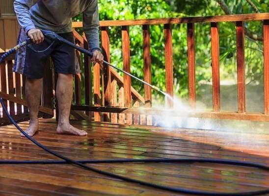 high pressure washer hose application